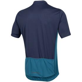 PEARL iZUMi Quest Fietsshirt korte mouwen Heren blauw/turquoise